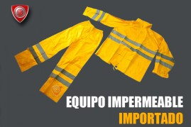 Equipo impermeable importado